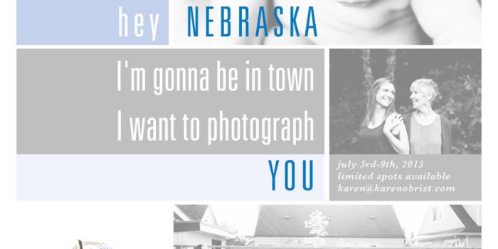 Nebraska // July Promo