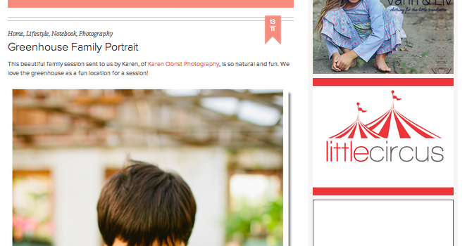 Mizushima Family Featured on La Petite Peach!