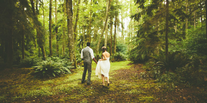 Willie + Kelsey // Whidbey Island Backyard Wedding