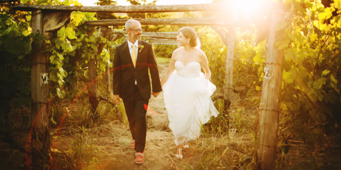 Kirsten + Chris // Lopez Island Winery Wedding