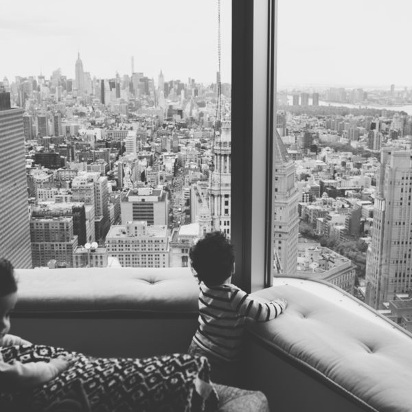 KOURASH & KIAVASH // AT HOME IN NYC