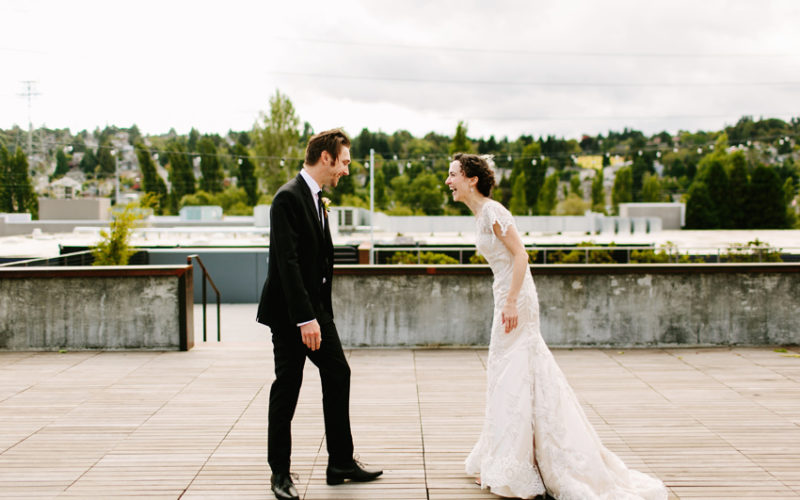 Maggie + Brian // Seattle wedding at Fremont Foundry