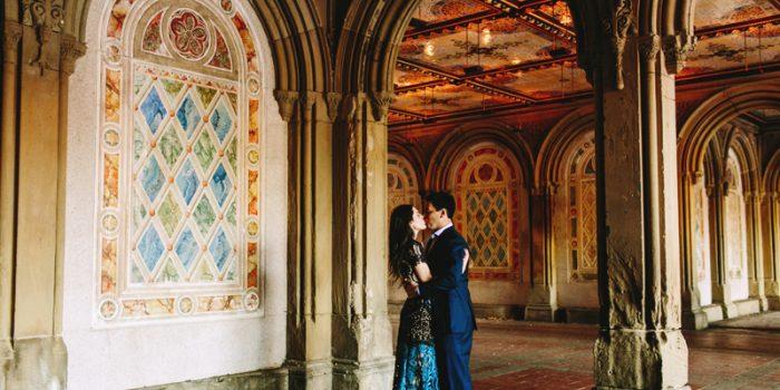 Elizabeth + Sean // Central Park Engagement