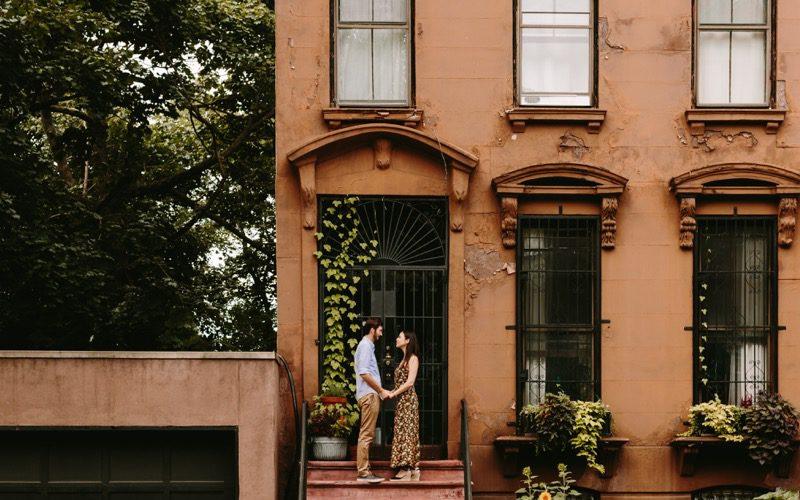 Tyler + Michelle // Brooklyn engagement